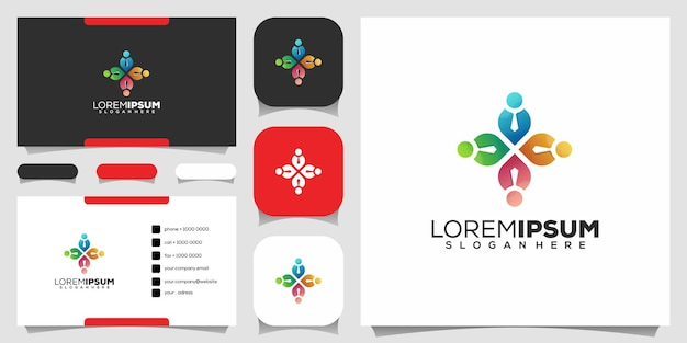 Design do logotipo da people