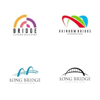 Design do logotipo da ponte