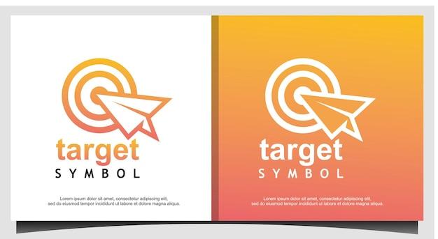 Design do logotipo da target