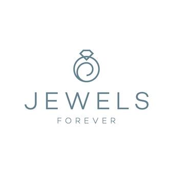 Design do logotipo do anel