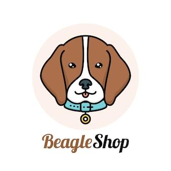 Design do logotipo do animal de estimação