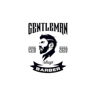 Design do logotipo do barbeiro