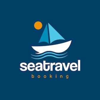 Design do logotipo do barco