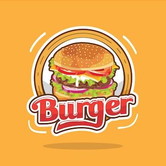Design do logotipo do big burger