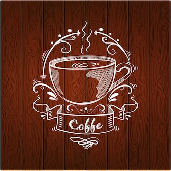 Design do logotipo do café