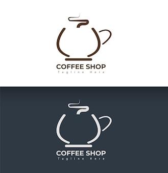 Design do logotipo do café