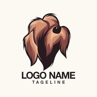 Design do logotipo do cão