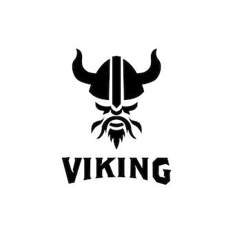 Design do logotipo do capacete de armadura viking para barco barco cross fit ginásio jogo esporte clube