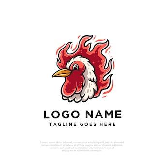 Design do logotipo do galo