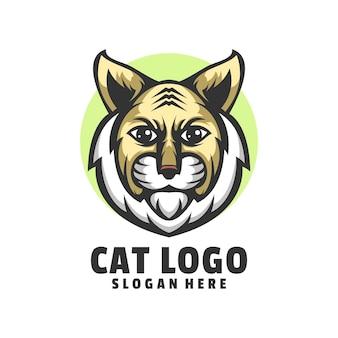 Design do logotipo do gato