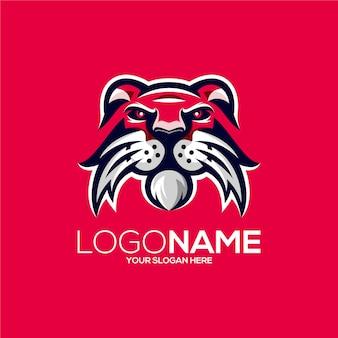 Design do logotipo do leão