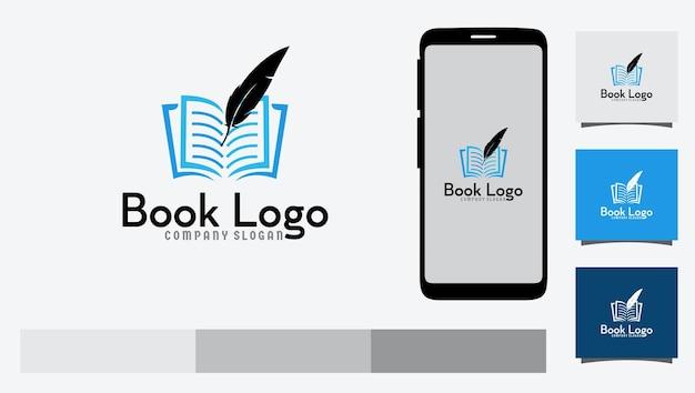 Design do logotipo do livro