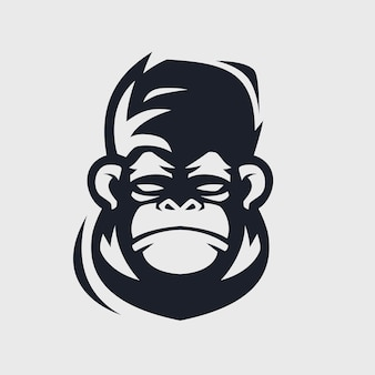 Design do logotipo do macaco