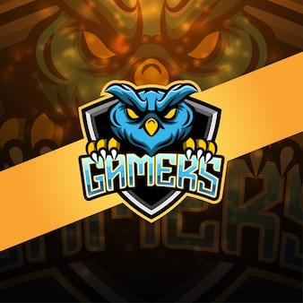 Design do logotipo do mascote esportivo