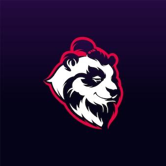 Design do logotipo do panda