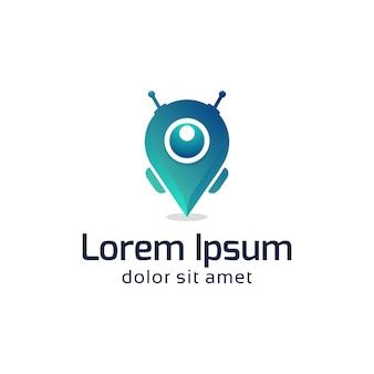 Design do logotipo do robô