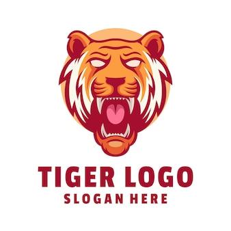 Design do logotipo do tigre