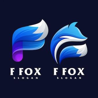 Design do logotipo f fox