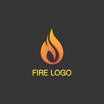 Design do logotipo fire