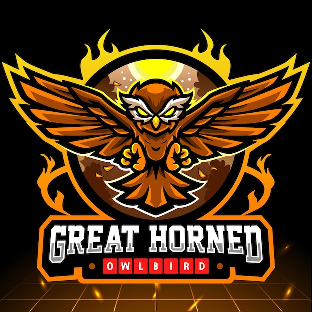 Design do logotipo owl esport