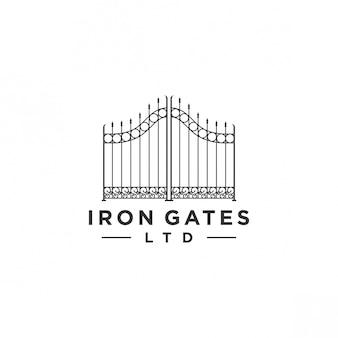 Design do logotipo portão