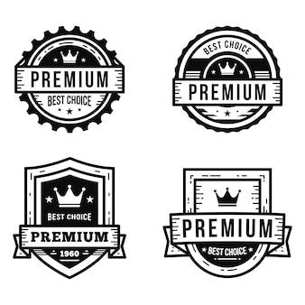 Design do logotipo premium