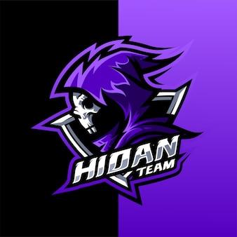 Design do logotipo reaper para esport