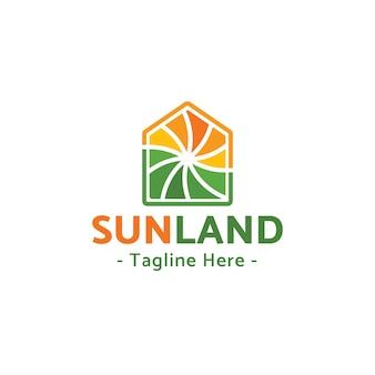 Design do logotipo sunland