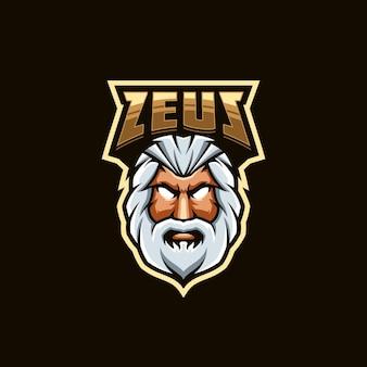 Design do logotipo zeus