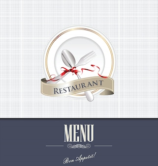 Design do menu do restaurante