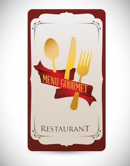 Design do menu