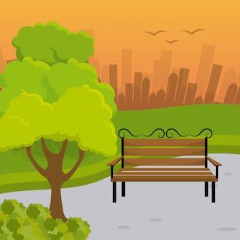 Design do parque da cidade.