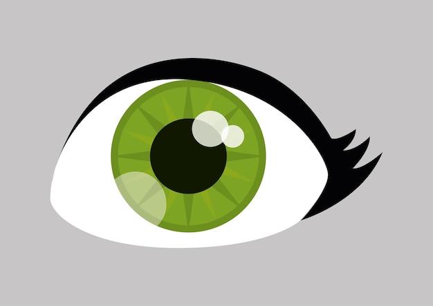 Design dos olhos.