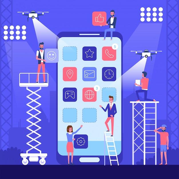 Design e desenvolvimento de aplicativos de tecnologia móvel