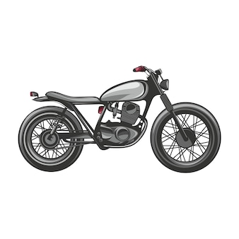 Design e logotipo de vetor plana de bicicleta personalizada