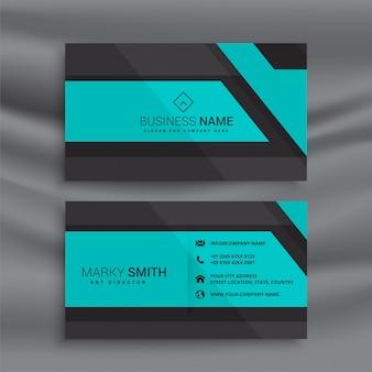 Design elegante cartão azul