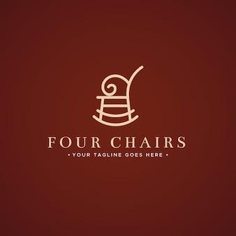 Design elegante para logotipo de móveis