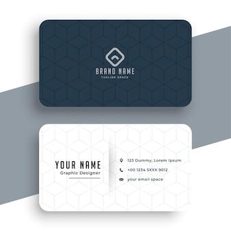 Design empresarial simples em preto e branco