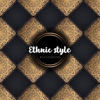 Design étnico de luxo