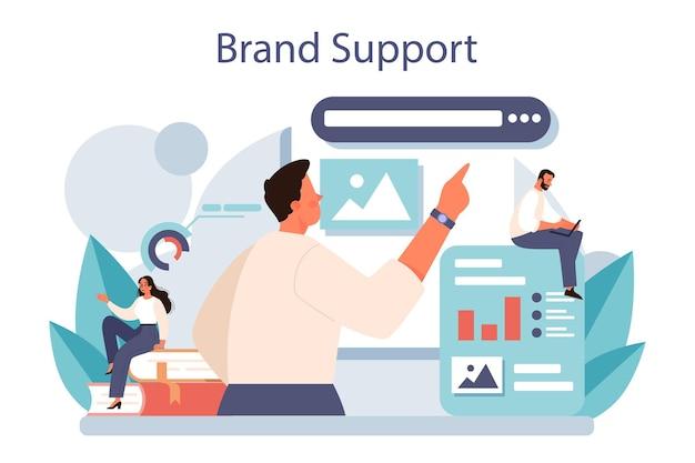 Design exclusivo de uma empresa ou desenvolvimento e promoção de produtos