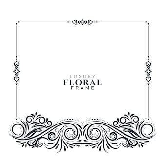 Design floral elegante lindo