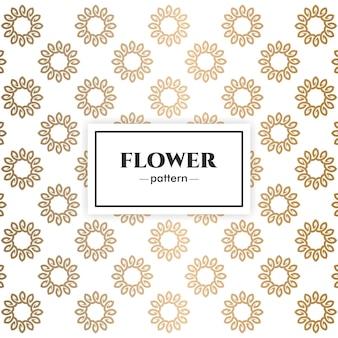 Design floral padrão de luxo