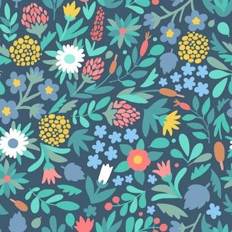 Design floral patern