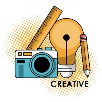Design gráfico criativo
