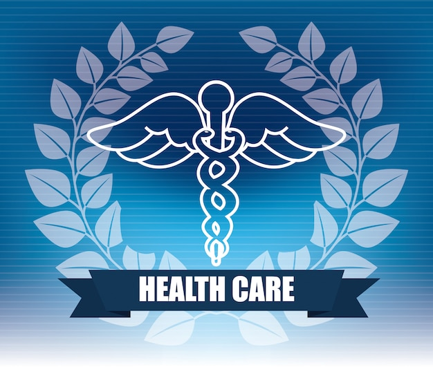 Design gráfico de cuidados de saúde