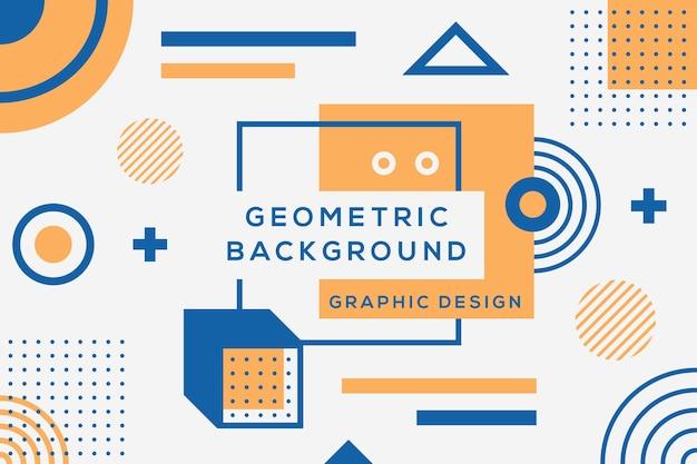 Design gráfico de fundo geométrico