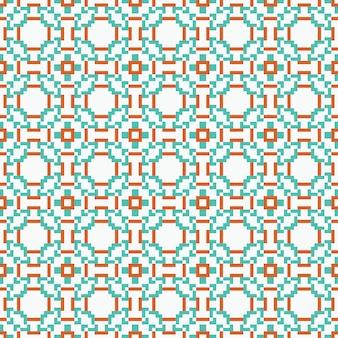 Design gráfico étnico decoração abstrata padrão fundo vector