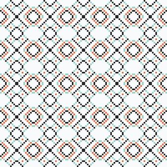 Design gráfico étnico decoração abstrata sem costura padrão