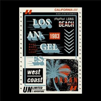 Design gráfico urbano de horário de verão para impressão pronta camiseta