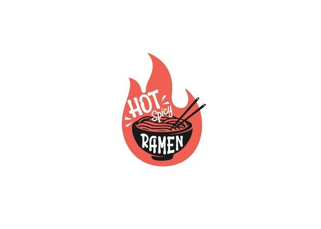 Design hot spicy ramen